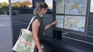 Morges: plus besoin de ticket pour le bus, si vous avez ce sac!