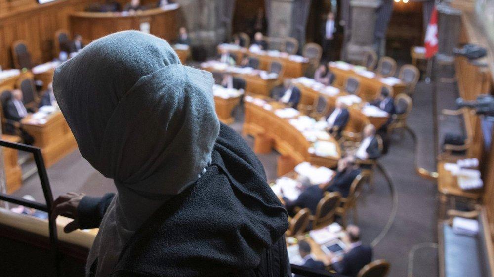 Sans surprise, le Conseil des Etats a rejeté, hier, nettement l'initiative antiburqa.