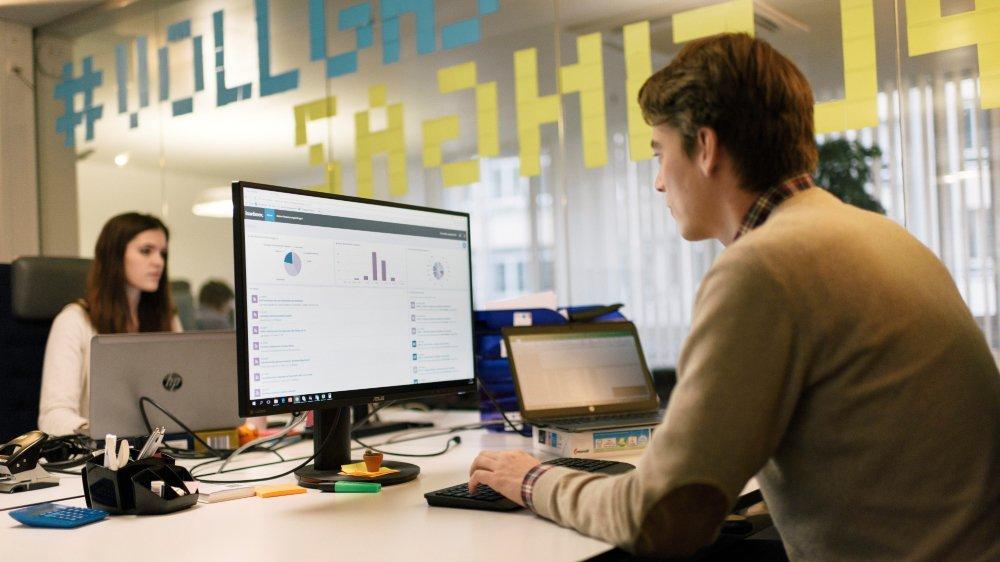 Les technologies financières innovantes suscitent l'intérêt des investisseurs.