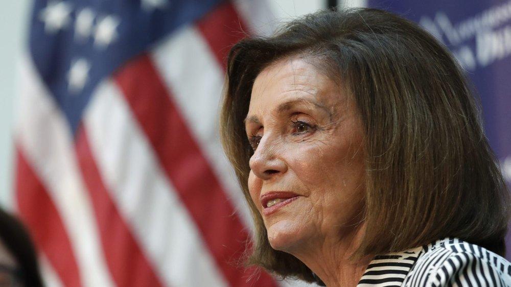 La cheffe des démocrates au Congrès, Nancy Pelosi, mène la charge contre le président des Etats-Unis.
