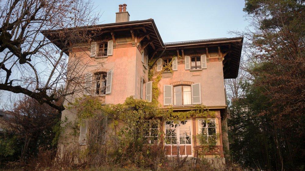 A près de 125 ans, la villa du 28 de la route de Saint-Cergue à Nyon pourrait financer sa rénovation en cédant sa place à un immeuble d'habitation.
