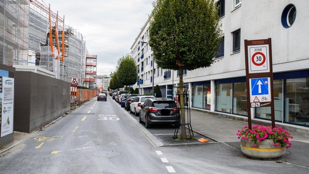A la rue du Sablon comme sur tout le territoire morgien, les zones 30 n'ont pas été validées.