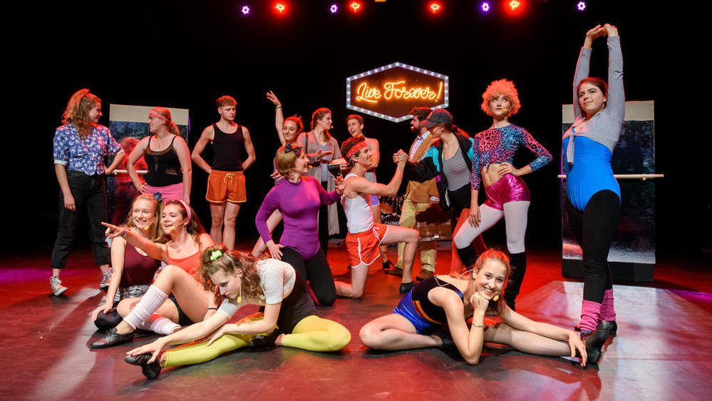 La troupe Rythme en Scène a monté Fame en septembre dernier.