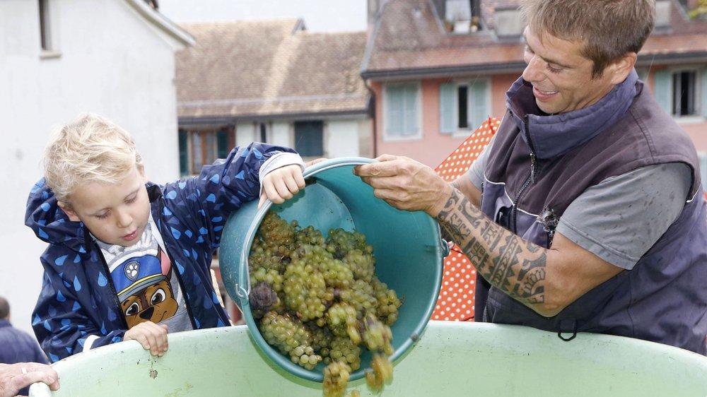 A Nyon, la Fête de la vigne se déroulera vendredi et samedi sur la place du Château avec une foultitude d'animations pour petits et grands.