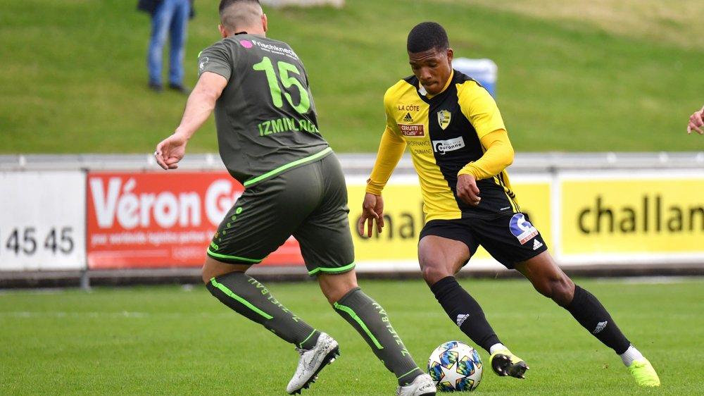Matheus Vieira et le Stade Nyonnais ont totalement asphyxiés leurs adversaires.