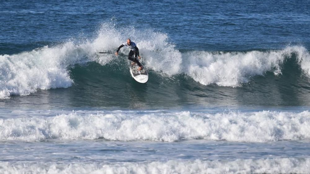 Steeve Fleury a su dompter les vagues pour s'offrir un nouveau sacre national.
