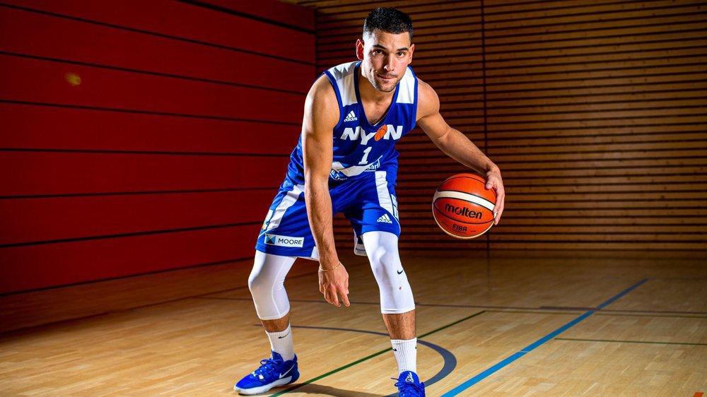 Après quasiment 20 ans de basket, Valentin Erard découvre la Ligue A cette saison sous le maillot nyonnais.