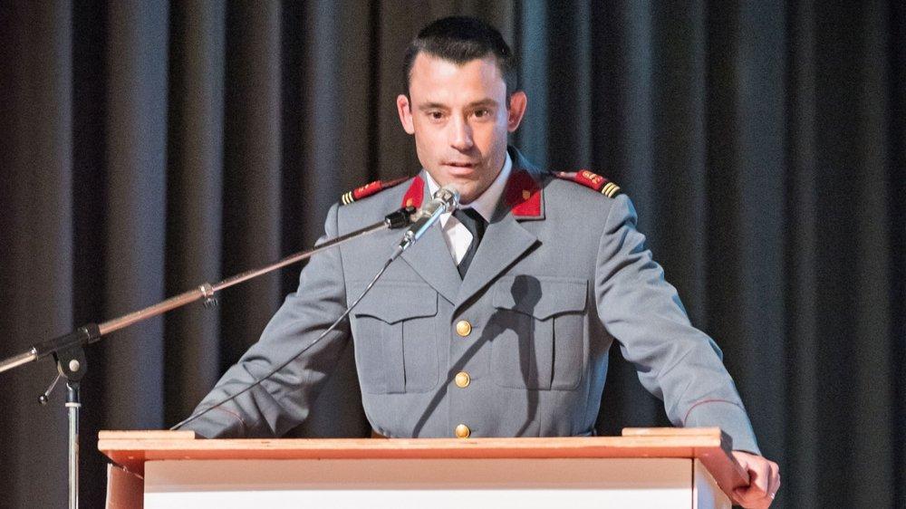 Clément Leu est heureux d'avoir été désigné commandant de la PRM et de la confiance accordée par le comité de direction. Il souhaite continuer à promouvoir la qualité du vivre ensemble.