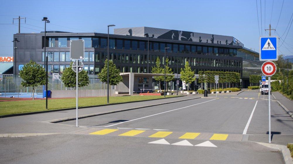 Pour désengorger les gymnases vaudois, le canton envisage plusieurs scénarios, y compris des locations. GEMS à Etoy est une parmi les pistes.