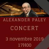 Alexander Paley en concert