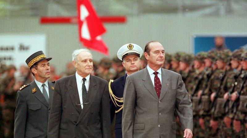 Jacques Chirac et la Suisse: une visite d'Etat, une grosse bourde et un avis sur le fromage