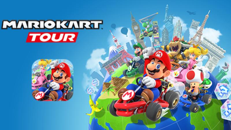 Ce nouveau Mario Kart propose notamment de faire des courses dans des grandes villes du monde, comme New York et Paris.