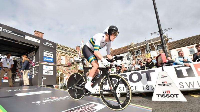 L'Australien Rohan Dennis a écrasé les 54 km du parcours de Harrogate dans le Yorkshire en 1h05'05.