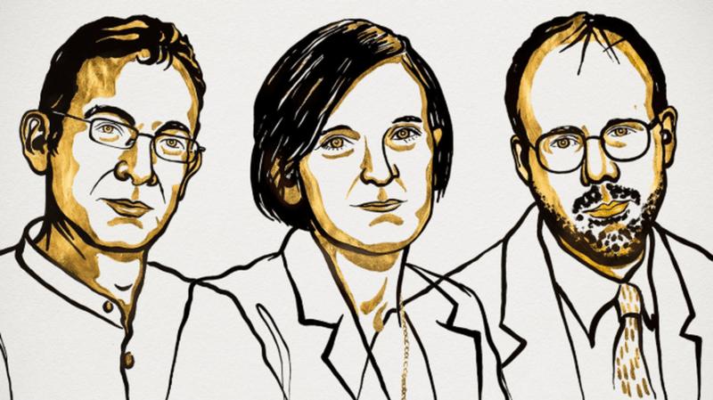 Abhijit Banerjee, Esther Duflo et Michael Kremer ont reçu le prix Nobel d'économie.