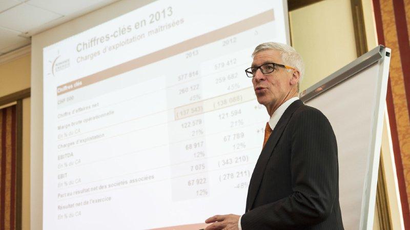 Denis Matthey était aussi membre de la direction de Romande Energie (archives).
