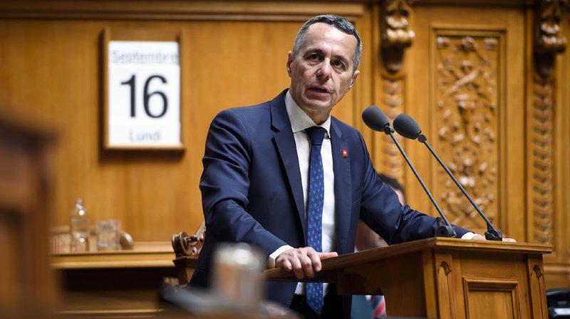 Le ministre des affaires étrangères Ignazio Cassis avait déjà critiqué l'opération militaire turque.