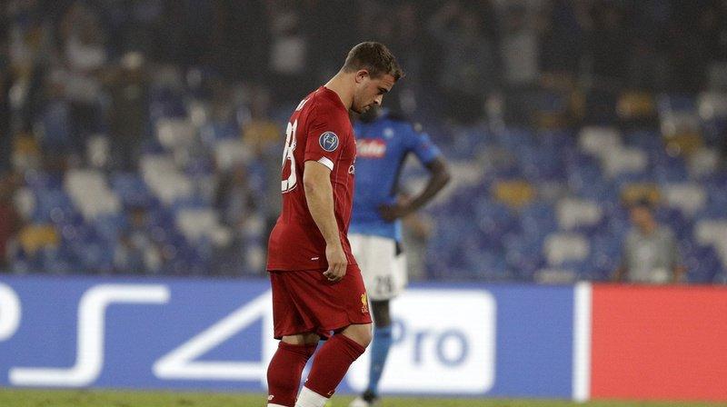 Football: Xherdan Shaqiri se blesse à l'entraînement avec Liverpool