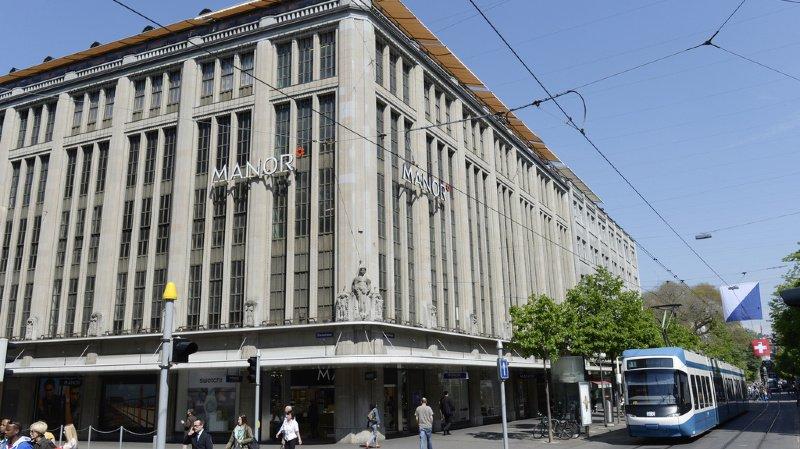Commerce de détail: Manor contraint de fermer son magasin de la célèbre Bahnhofstrasse de Zurich