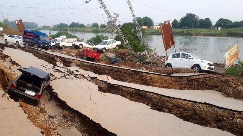 Un séisme au Pakistan fait au moins 19 morts et 300 blessés