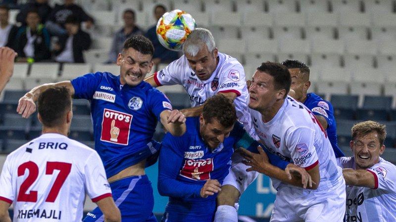 Football – Super League: Xamax perd face à Lucerne, match nul entre Servette et Lugano