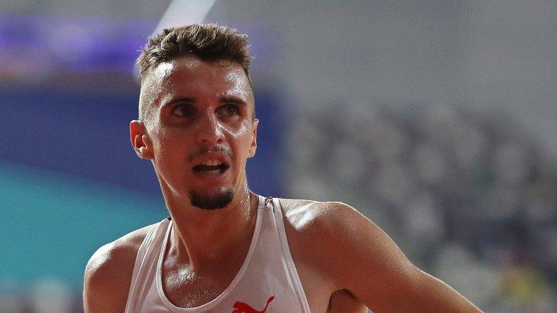 Julien Wanders a été contraint d'abandonner sur l'épreuve du 10'000 m.