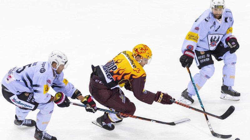 Hockey: Genève puni par Desharnais, Lausanne humilié chez lui
