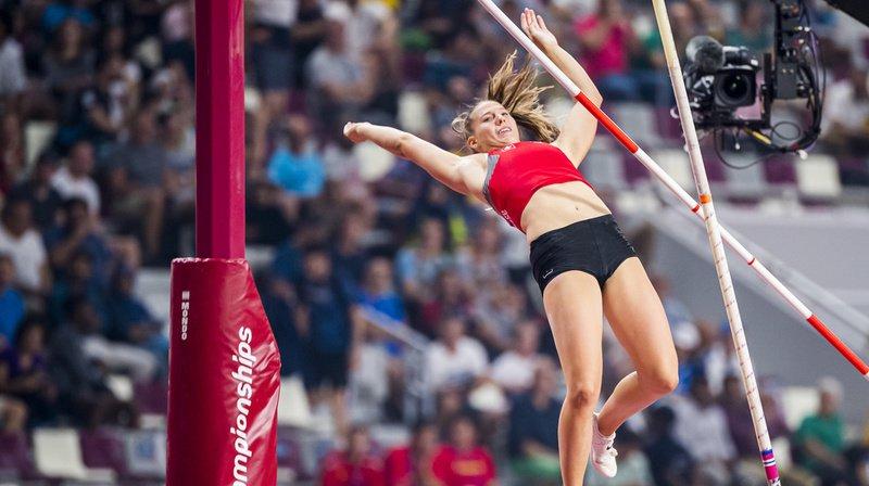 Athlétisme - Mondiaux de Doha: pas d'exploit pour Angelica Moser à la perche