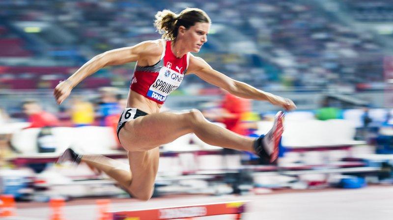 Derrière les fusées américaines, Lea Sprunger croit en sa bonne étoile