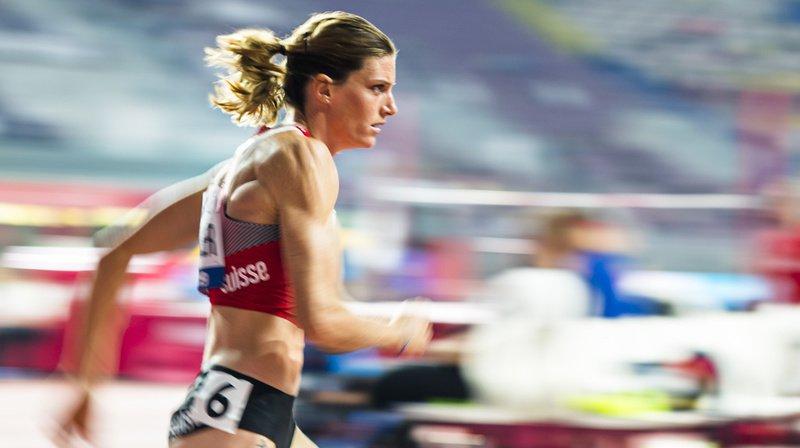 La Vaudoise a disputé ce vendredi sa deuxième finale mondiale sur 400 m haies.