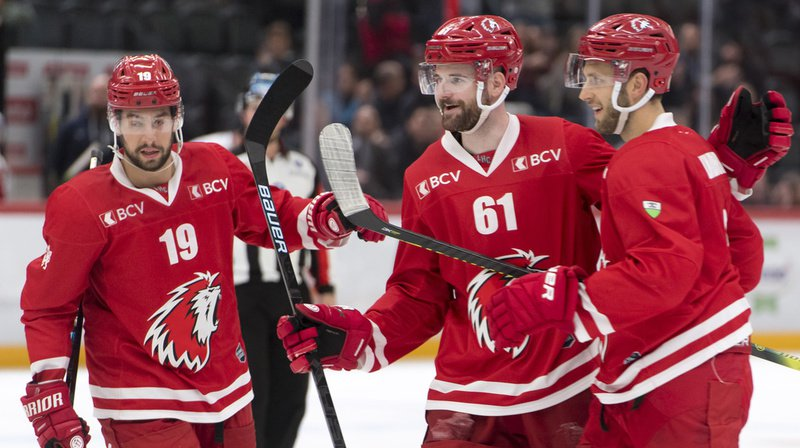 Hockey: Lausanne bat Rapperswil 4-1 et remonte à la 4e place au classement