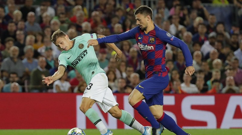 Football - Ligue des champions: Barcelone bat l'Inter Milan, Liverpool s'impose contre Salsbourg