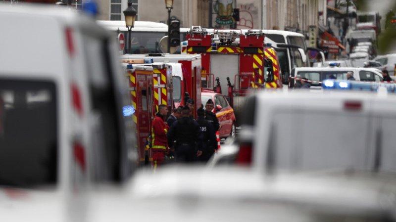 Paris: un homme tue 4 fonctionnaires à l'arme blanche avant d'être abattu