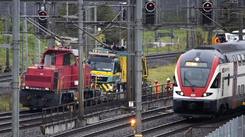 La Suisse chute au classement de la compétitivité du WEF, à cause de l'efficacité de ses trains.