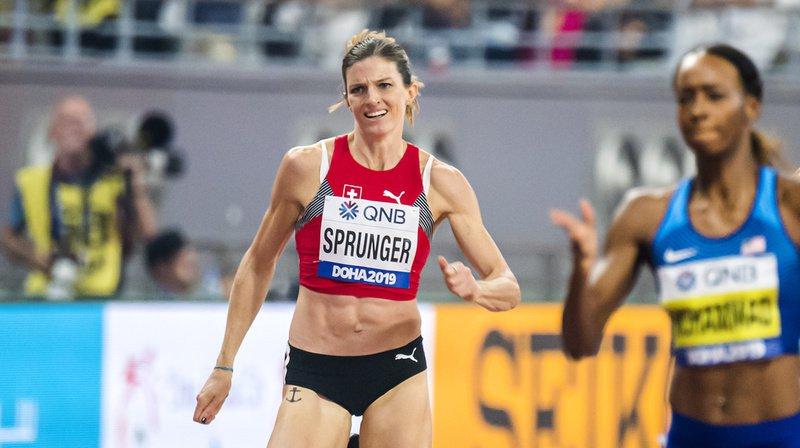 Lea Sprunger et ses partenaires ont raté leur relais.