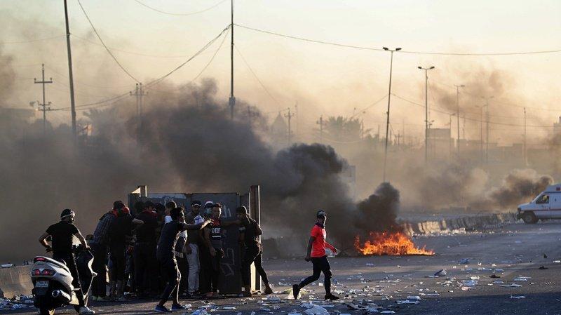 Irak: 73 morts et plus de 3000 blessés dans des manifestations antigouvernementales
