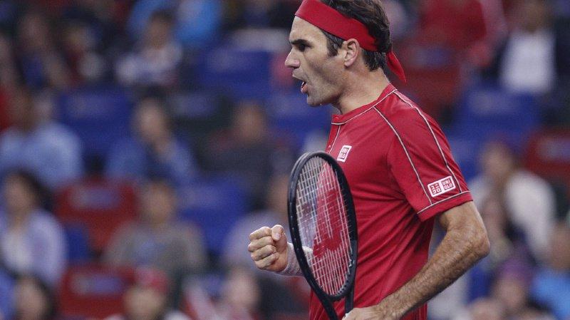 Roger Federer s'est aisément qualifié pour les huitièmes de finale des Swiss Indoors. (photo d'archives)