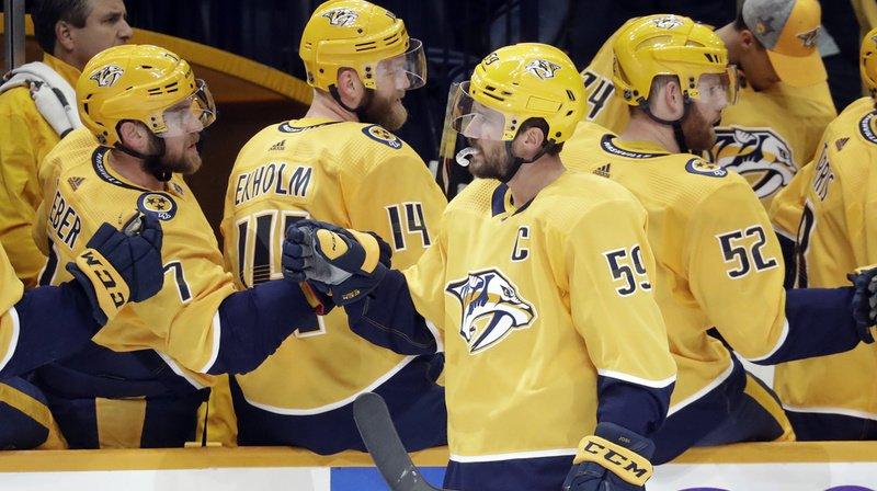 Hockey sur glace – NHL: Roman Josi, double buteur et homme du match