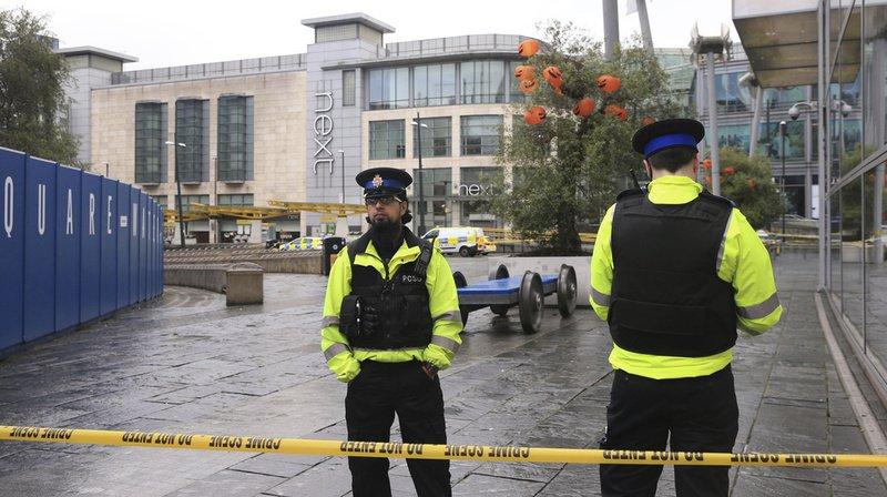 Le centre commercial d'Arndale, situé à Manchester, a été évacué.