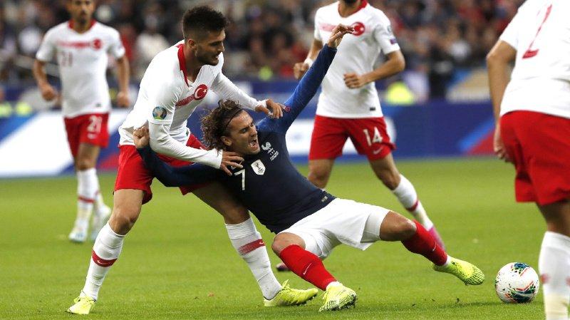 La France d'Antoine Griezmann pensait avoir fait le plus dur en ouvrant le score en fin de match.