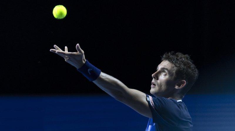 Tennis – Swiss Indoors de Bâle: Henri Laaksonen échoue au stade des huitièmes de finale