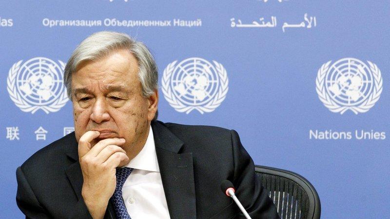Sommet climat: l'heure d'Antonio Guterres