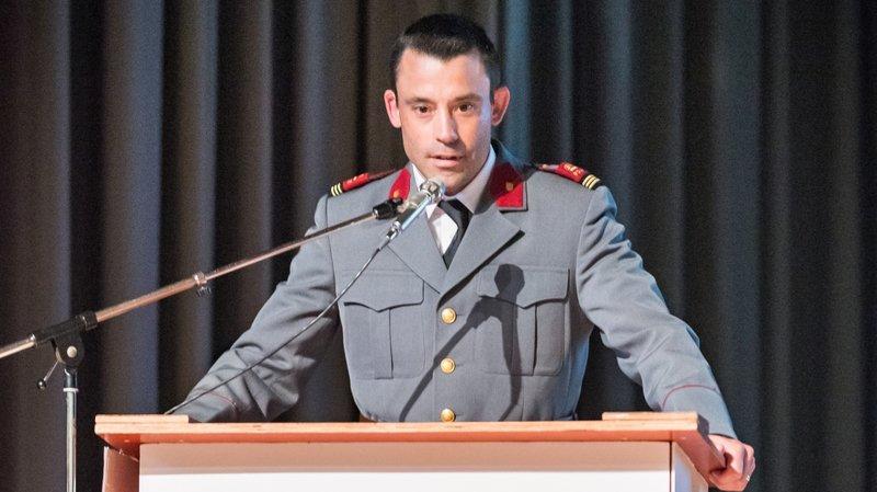Clément Leu a été nommé commandant de Police Région Morges.
