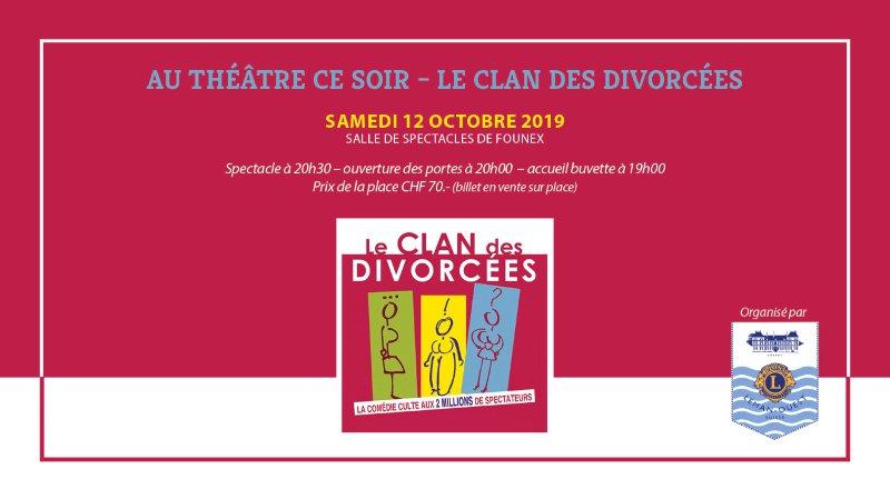 Au théâtre ce soir : Le clan des divorcées