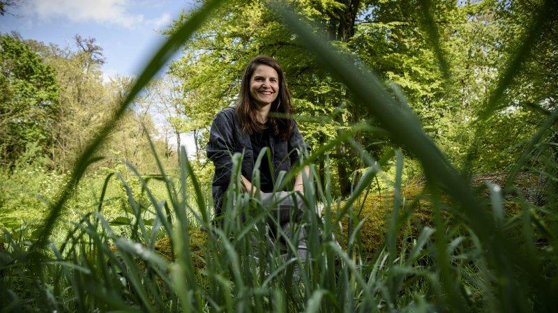 La Nyonnaise Mélanie Zogheb, designer et médiatrice passionnée d'oiseaux, guidera une balade le dimanche matin.