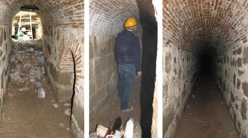 Genève: découverte d'un souterrain du 18e siècle