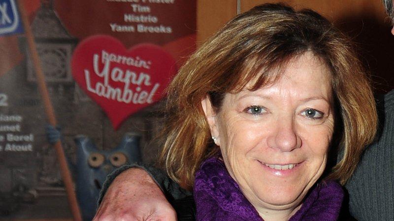 Francine Rochat, l'organisatrice du festival.
