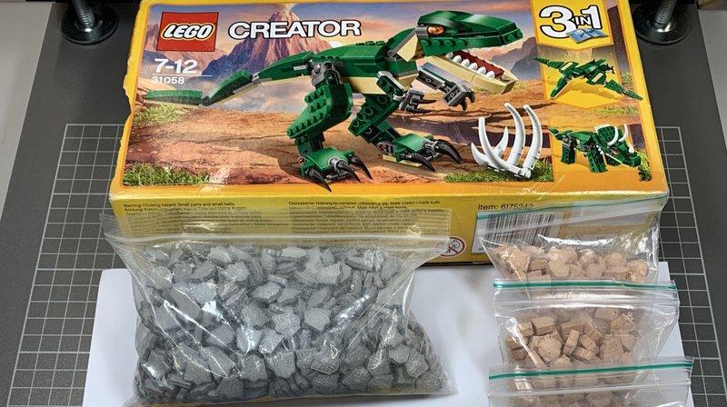 Insolite: la boîte de dinosaures Lego contenait... un millier de pilules d'ecstasy