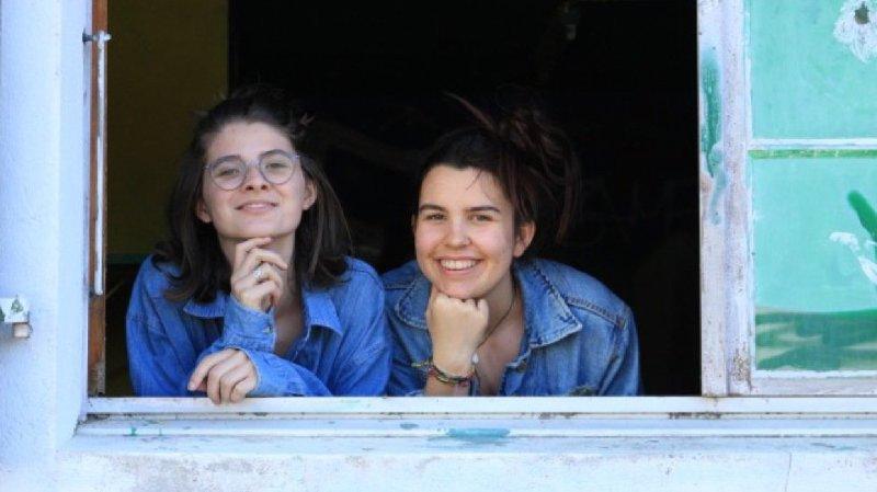 Luise Steinhaus et Anne-Julie Bourgeois vont faire revivre la Maison des jeunes ce samedi, le temps d'une exposition comme l'an dernier.