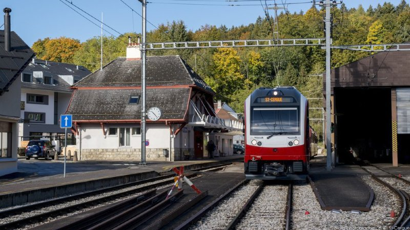 La ligne de train St Cergue-La Cure interrompue pour travaux