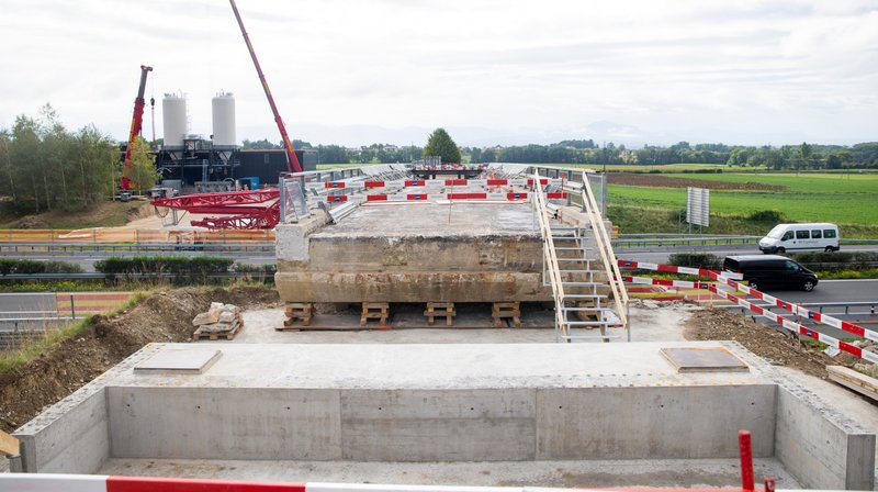 Bursins: le pont sur l'A1 sera remplacé en une nuit